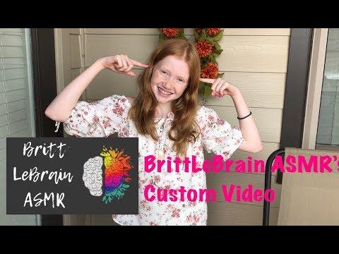 Britt LeBrain's ASMR's Custom Video - Please Subscribe To Her ❤️