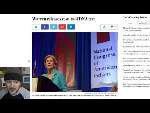 Elizabeth Warren Just PROVED She Is Not Legally Native American