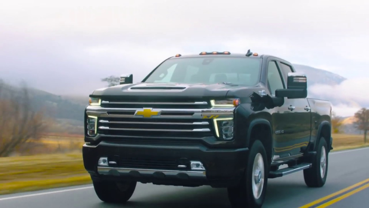 2020 Chevrolet Silverado Headlights Amp Tail Lights Youtube