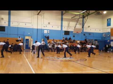 Jrotc Drill Competition 2016 NYC Aviation high school - at John Bowne High School