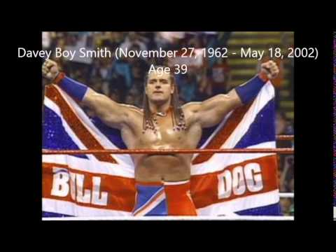 All The Wrestling Deaths In History