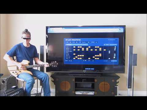 Virtual Reality Drum Synthesizer Using Brain-Actuated Control