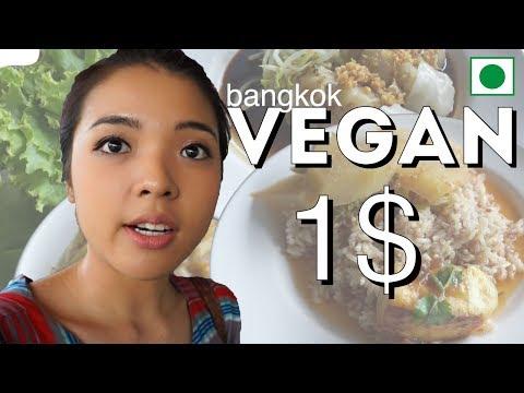 VEGAN IN BANGKOK : Chamlong's Asoke/ Vegetarian Society Canteen  At Chatuchak Market