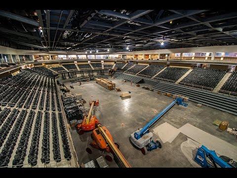 Cross Insurance Center Update: Maine Legislators Visit New England's Newest Arena