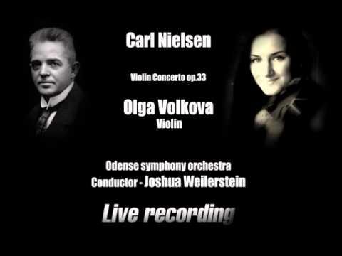 Olga Volkova plays Nielsen Concerto 1Mvt.(Praeludium)