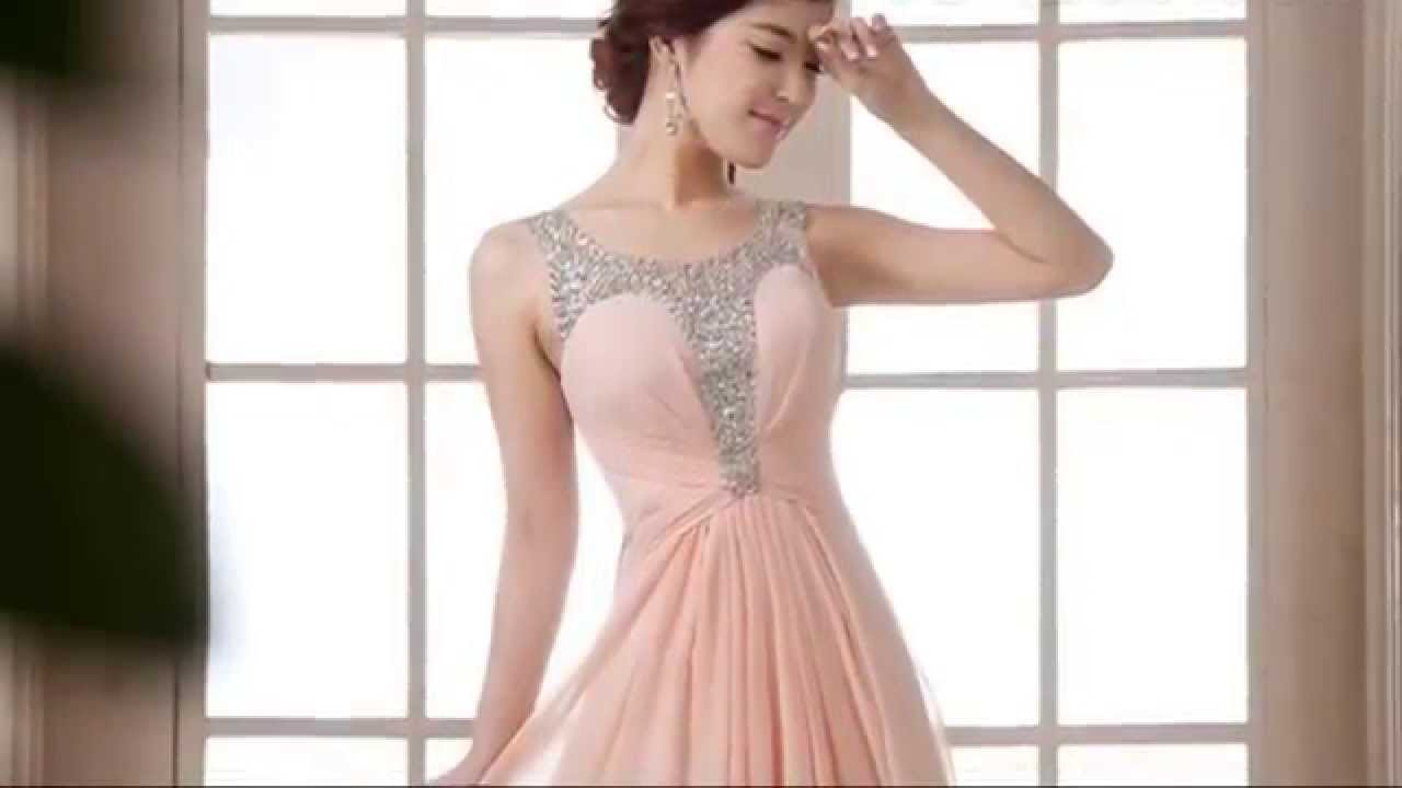 The most beautiful dresses for bridesmaids - YouTube
