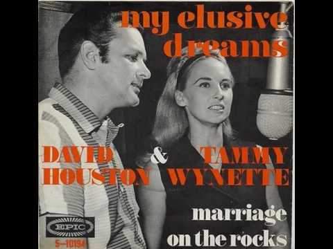 Tammy Wynette & David Houston - Marriage On The Rocks