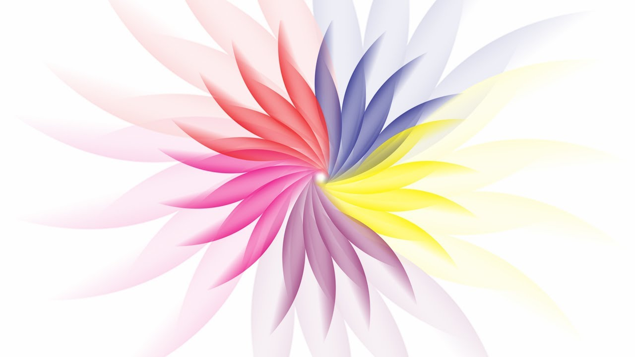 How To Make A Flower In Corel Draw Youtube