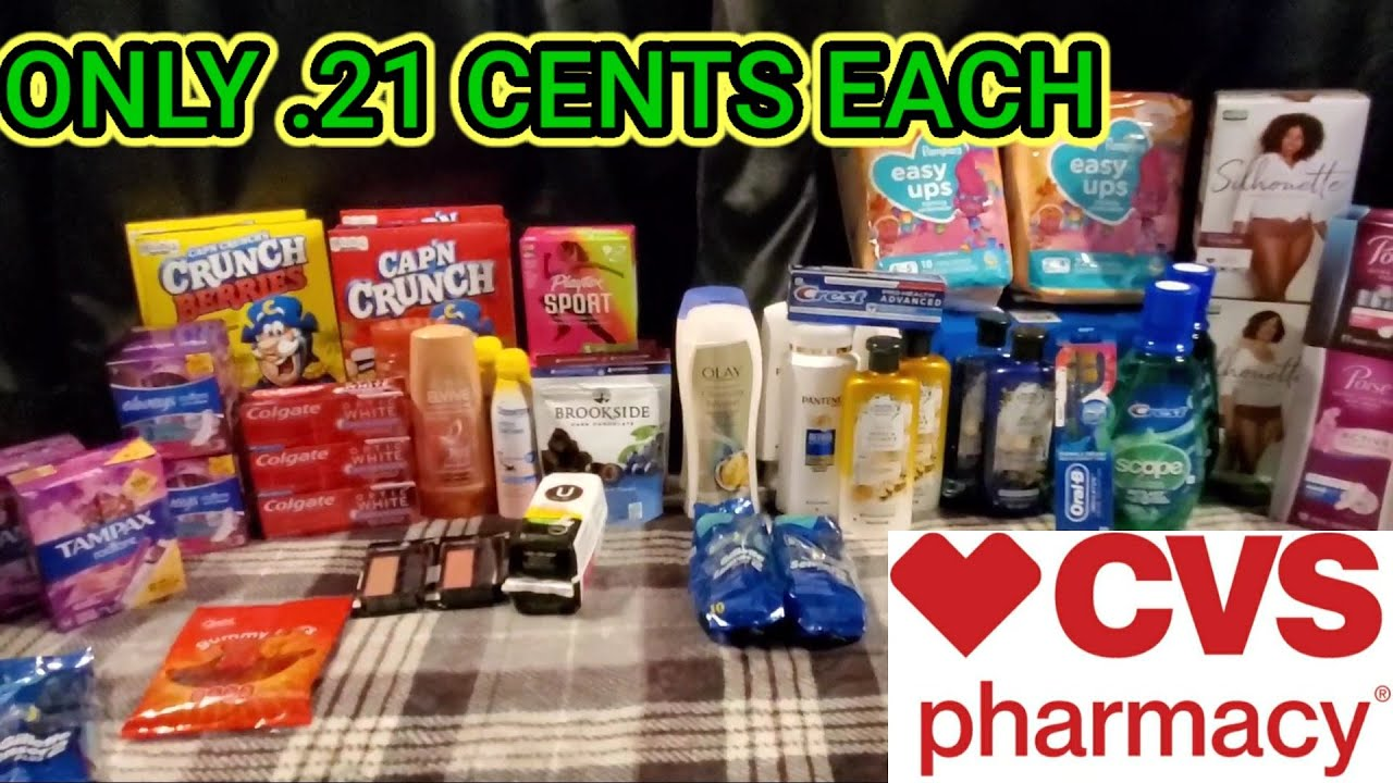 CVS DEALS 7/5-7/11 [FREEBIES & MONEYMAKERS] ONLY .21 CENTS/ITEM [PRINTABLE LIST INCLUDED]