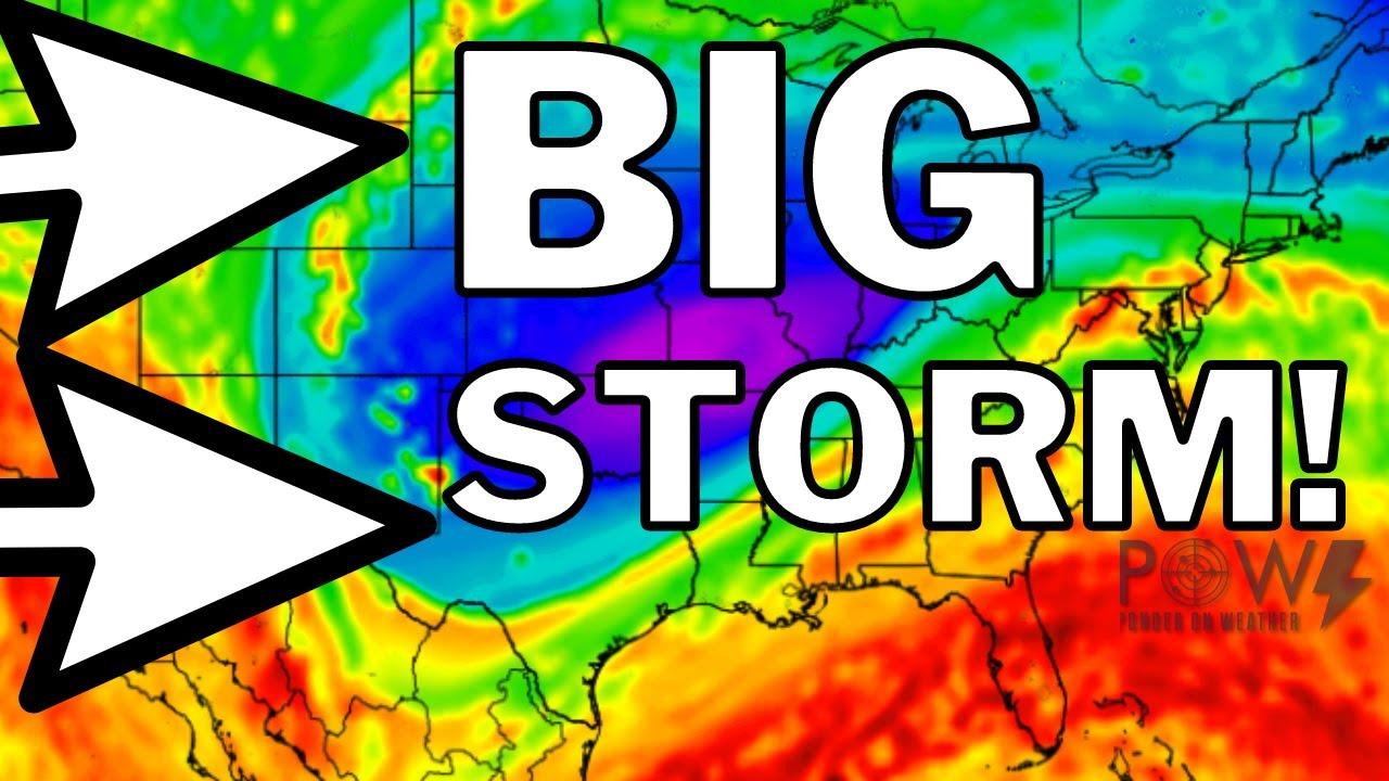 BLIZZARD Warning! Major SNOWSTORM & FLOOD Risk! Coldest Temps So Far! POW Weather Channel