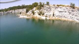 Quarry with some underwater treasure