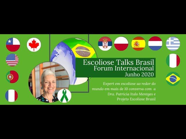 Escoliose Talks Brasil 2020  Fórum internacional