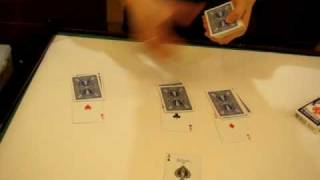 vincent copperfield 83  ultimate 4 aces assembly 2009  魔術破解   最強聖誕撲克超魔術