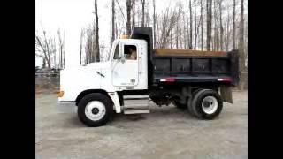 Sold! Freightliner FLD112 S/A 5 Yard Dump Truck Eaton 10 Speed bidadoo.com