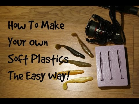How to make soft baits for Fishing lure kits make your own