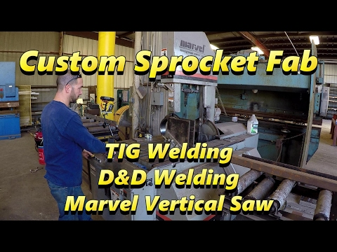 SNS 155 Part 1: Custom Sprocket, D&D Welding, Marvel Saw