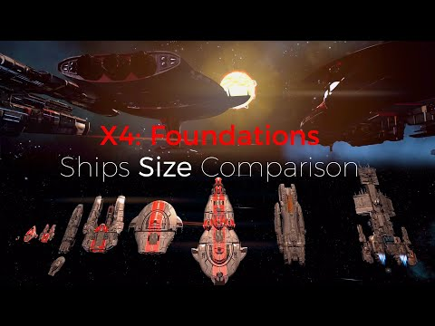 X4 Foundations Ships
