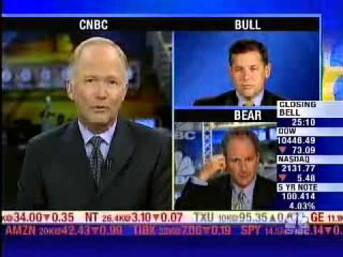 Classic: Peter Schiff vs. David Sowerby of Loomis Sayles on CNBC Bull vs Bear""