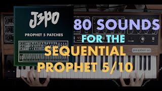 J3PO Prophet 5 Patches - Official Sounds Demo