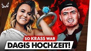 So KRASS war Dagis HOCHZEIT! • Marcels Disstrack GEHT ZU WEIT! | #WWW