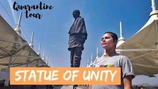Virtual Tour to the WORLD'S TALLEST STATUE | Statue Of Unity | Travel During Quarantine