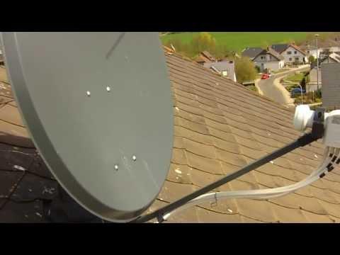 satelliten antenne richtig installieren workshop doovi. Black Bedroom Furniture Sets. Home Design Ideas