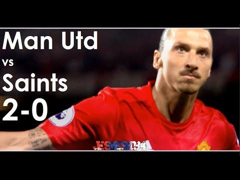 Man Utd vs Saints 2-0 (HD)