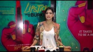 Aahana Kumra : Controversy Is Not Done Anything, Film Is Done It's Job | Lipstick Under My Burkha