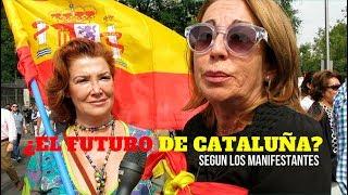 MADRID OPINA SOBRE EL INDEPENDENTISMO CATALÁN Y EL FUTURO DE CATALUÑA