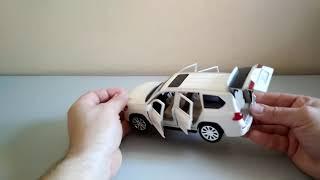 "Lexus LX 570 модель ""Автопром"" 1:24. Звук, свет."