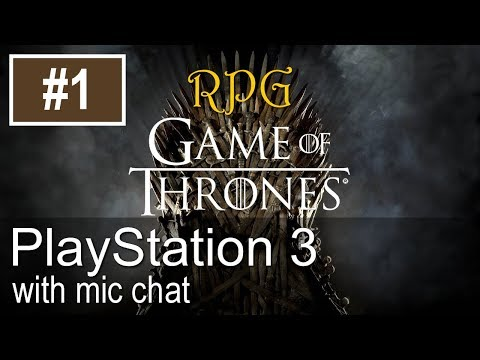 Game Of Thrones RPG PS3 Gameplay (Let's Play #1)