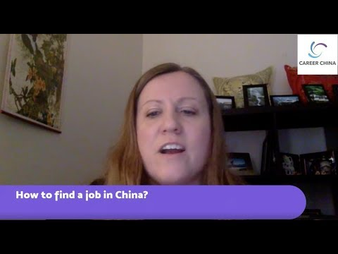 Tips for Finding a job in China - LIVE Q&A