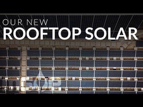 Solar Panels at MGE Headquarters