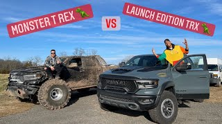 He Crashed His Brand New Ram TRX.. So I Drove 3,000 Miles 2 Give Him Mine! *My First Time Off Road*