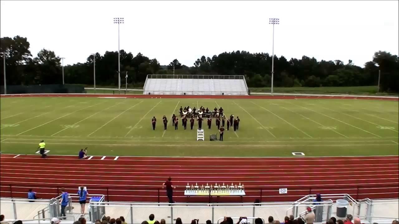 New Hampstead High School at the Southeast Bulloch Band Blast 2014 ...
