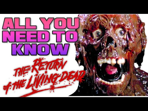 Return Of The Living Dead - 1985 - Behind The Blood