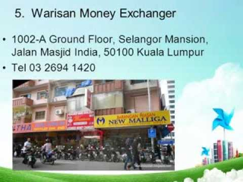 forex exchange rate in Kuala Lumpur Malaysia  BEST RATE !!!