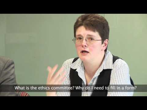 Dissertation Question Time - What is the ethics committee?