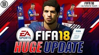 HUGE CHAMPS UPDATE! 94 SUAREZ! - FIFA 18 Ultimate Team