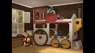 видео Детские двухъярусные кровати - 100 фото красивых кроваток в интерьере
