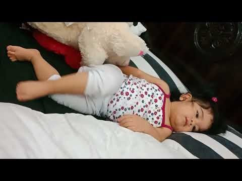 This is how she puts herself into sleep  Selin Amaris Esmer