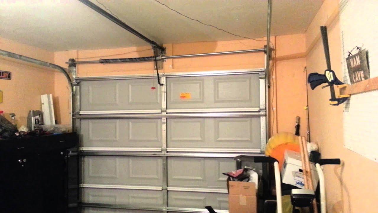 Ch I Rise Door With A Garage Door Opener Made By