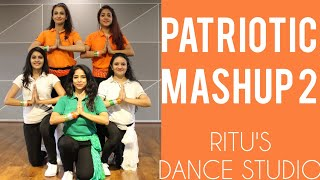 #PATRIOTICDANCE/ ONE INDIA MASH UP 2/26 JANUARY/ RITU'S DANCE STUDIO