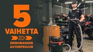 Vaihtaa Sisäilmansuodatin Opel Astra g f48 1.6 16V (F08, F48) - vaihtovinkit