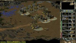 Command & Conquer Tiberian Sun Hard - GDI - 09: Destroy Vega