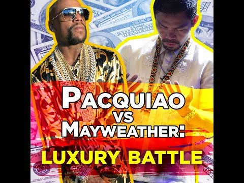 Pacquiao vs Mayweather luxury battle - KAMI - Manny Pacquiao and Floyd Mayweather truly live - 동영상