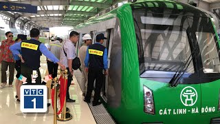 Hàng trăm nhân viên đường sắt Cát Linh-Hà Đông bỏ việc