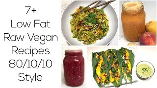 7+ Awesome Low Fat Raw Vegan Recipes & Fruit Storage Tips