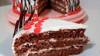 Шоколадный торт Tort de ciocolata Chocolate cake