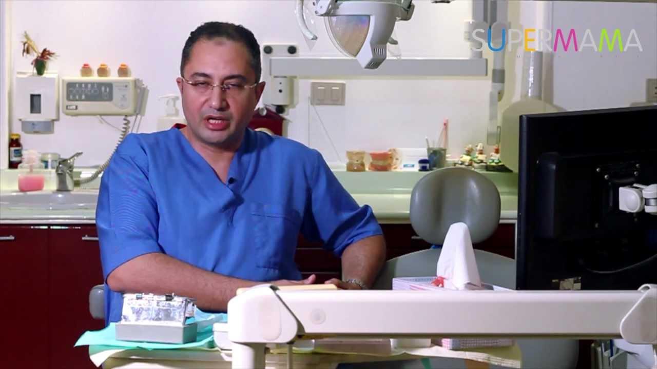 عيادة سوبرماما: العناية بالأسنان اللبنية